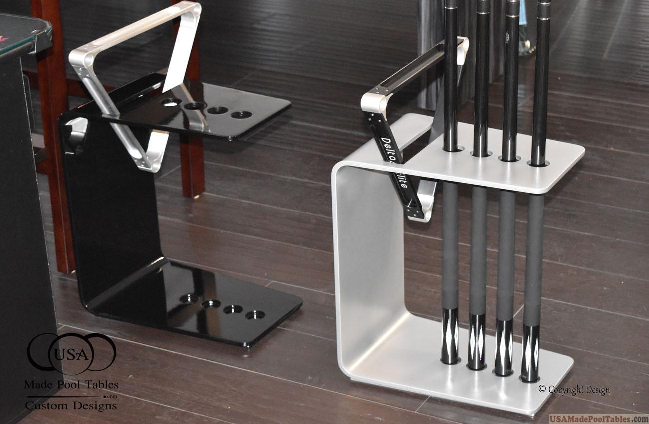 Modern Cue Rack Billiard Cue Rack Pool Cue Rack Brush