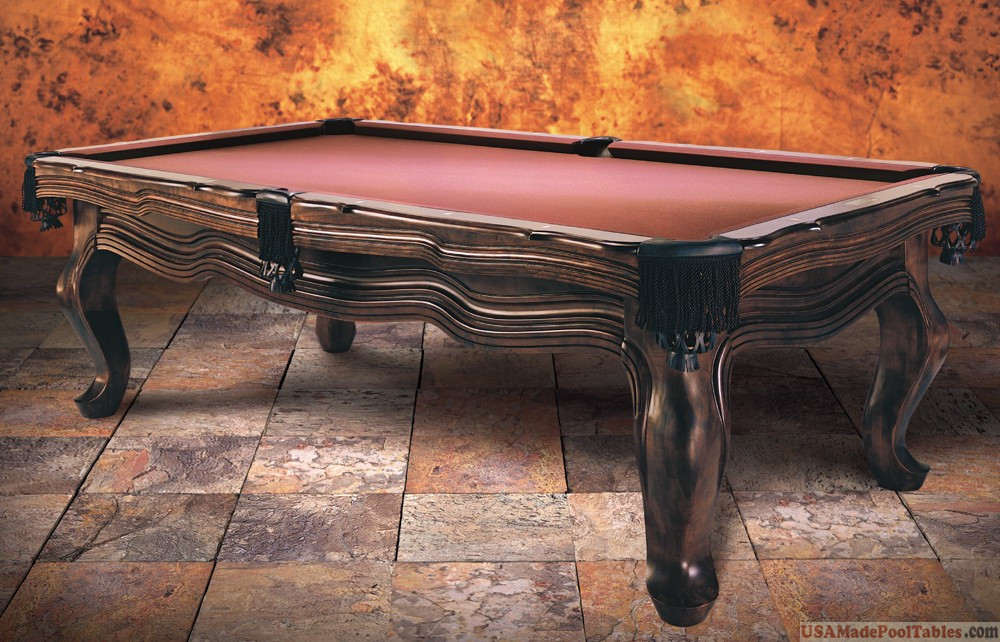 POOL TABLE VINTAGE POOL TABLE DINING POOL TABLE POOL TABLES - Classic billiard table