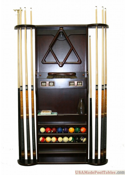 CHERRY PTK WALL CUE RACK