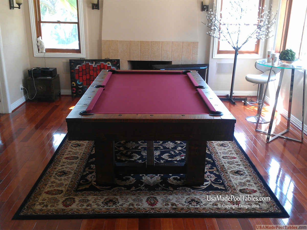 Rustica Pool Tables Rustic Pool Tables Rustic Pool