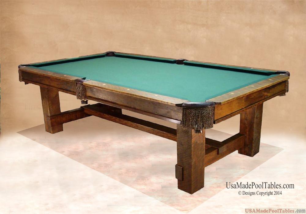 RUSTICA POOL TABLE