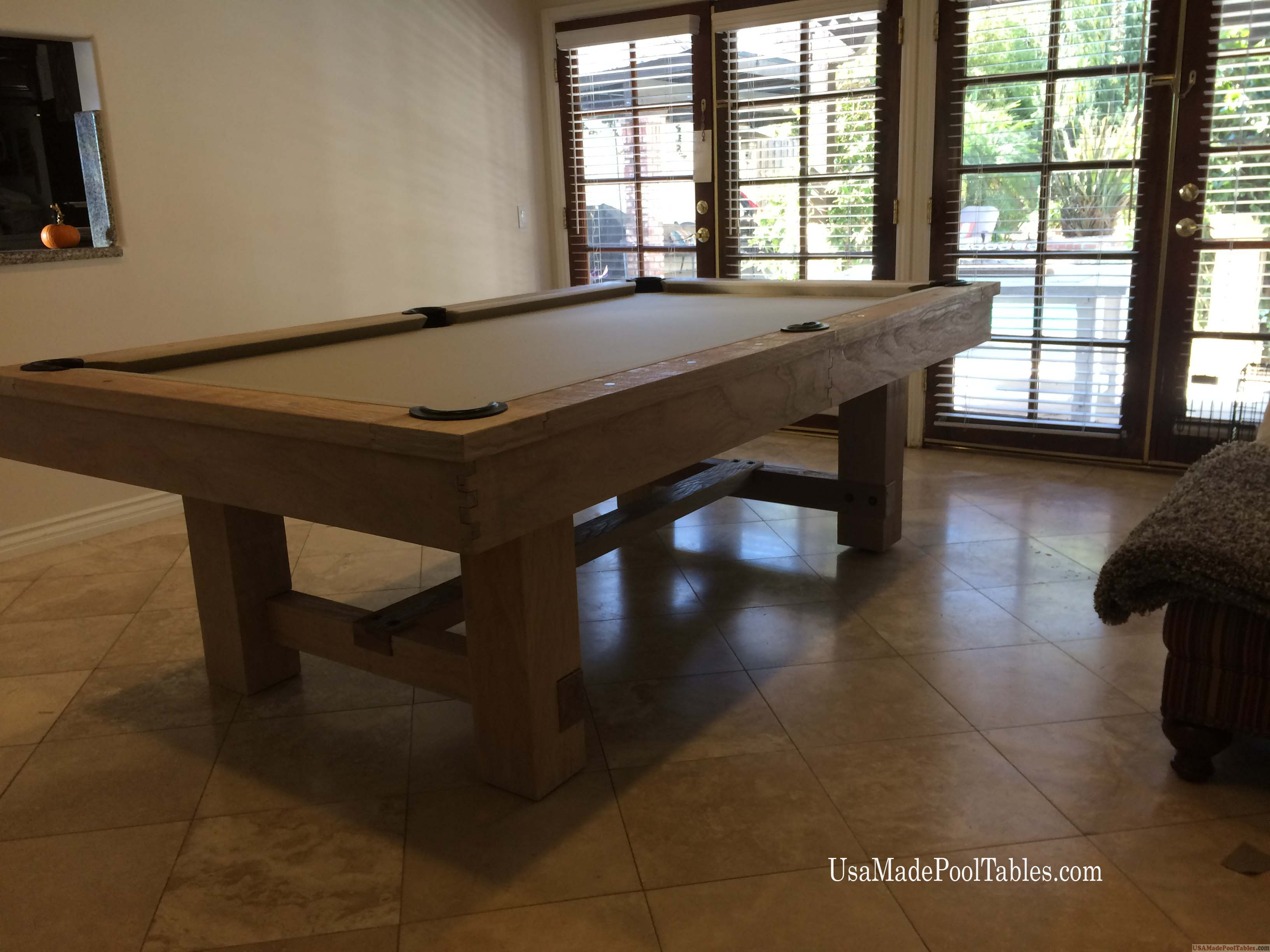 RENO POOL TABLES RUSTIC POOL TABLES POOL TABLES BILLIARDS - Reno pool table