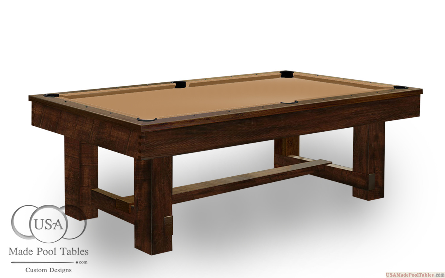 RUSTIC POOL TABLES : POOL TABLE