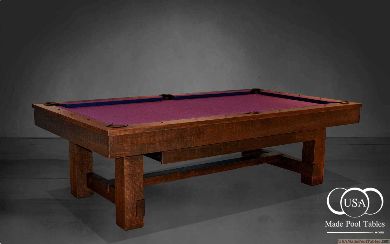 Rustica Pool Tables Rustic Pool Tables Rustic Pool