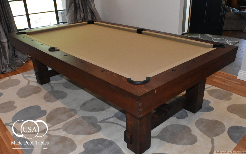 Charmant ... RUSTIC POOL TABLES : POOL TABLE ...