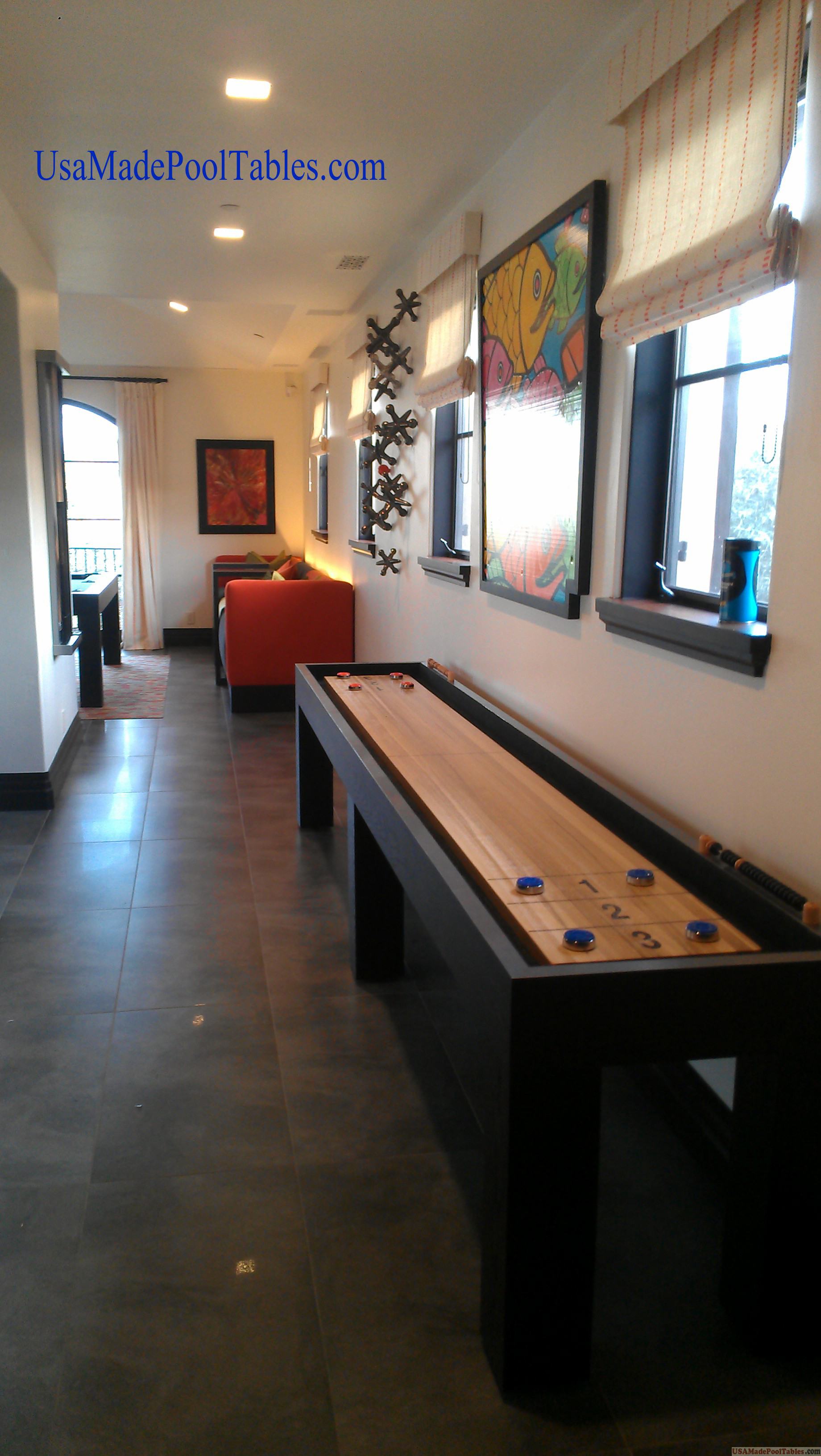 Shuffleboard Table Pool Table Poker Table Air Hockey
