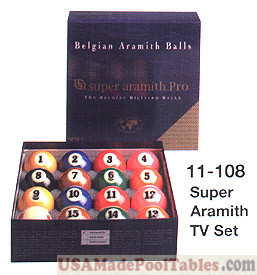 Super Aramith  TV Ball Set