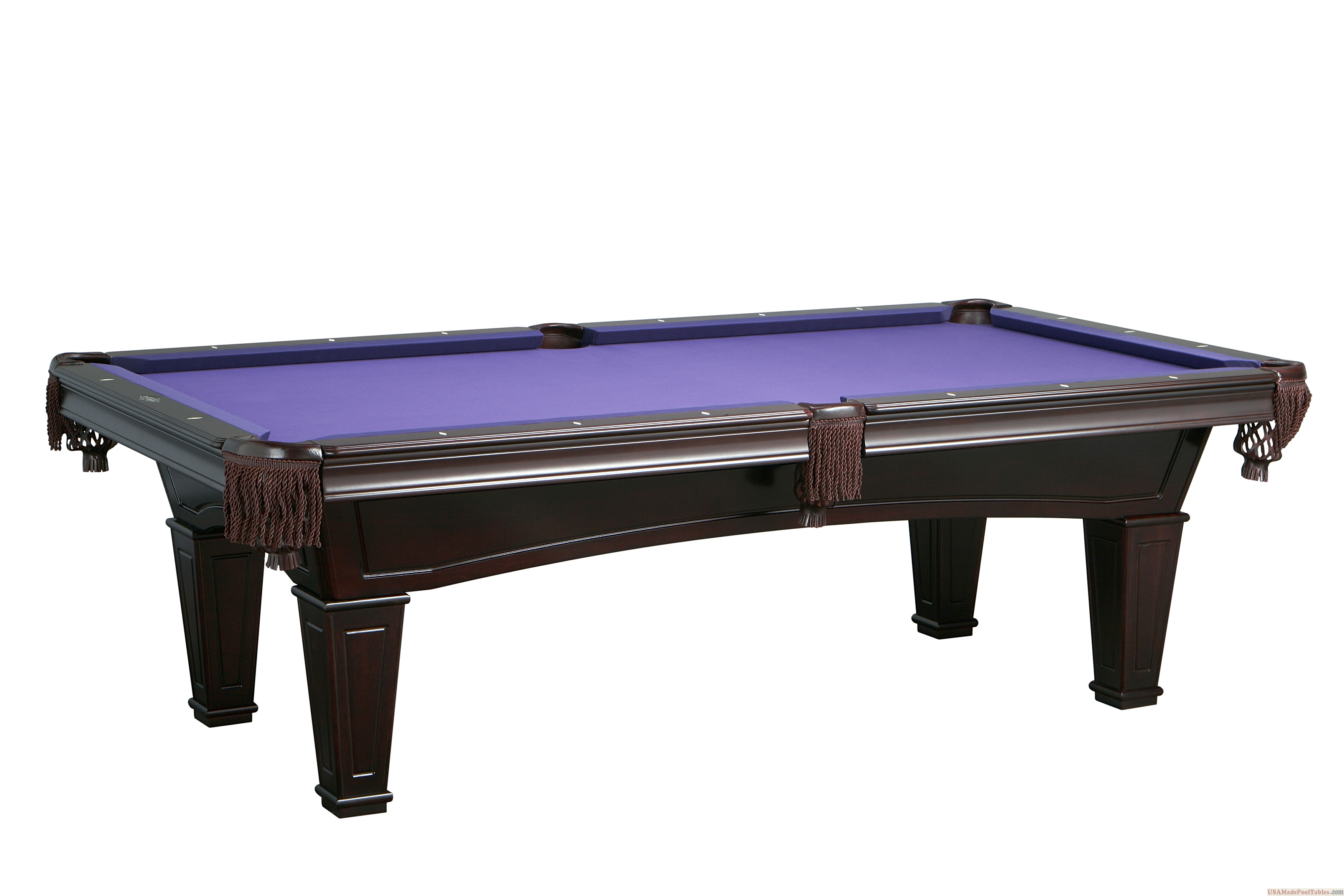 SHERATON POOL TABLE MAHOGANY : POOL TABLES