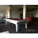 Manhattan Pool Table White