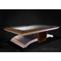 Infinity Contemporary Pool Tables Walnut