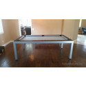 Melrose Contemporary Pool Table Mahogany
