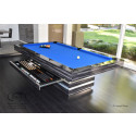 Hermosa Modern Pool Table Midnight Sky