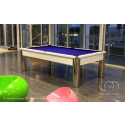 The Cosmopolitan Contemporary Pool Table White