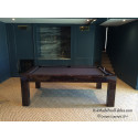 Riviera Contemporary Pool Table  Macassar Piano Finish