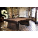 NATIVE STEEL POOL TABLE