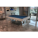 PENTHOUSE CONTEMPORARY POOL TABLE WHITE