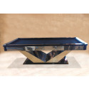Mr. President Contemporary Chrome Pool Table