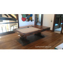 RUSTIC POOL TABLE MAHOGANY