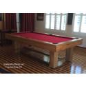 Rustica Pool Tables oak