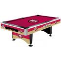 NFL San Francisco 49ers Pool table