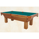 Ventura Pool Table Medium Oak