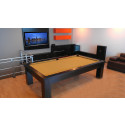 Vegas Contemporary Pool Table  Espresso