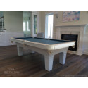 Sybella White Pool Table