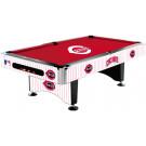 MLB Cincinnati Reds Pool table