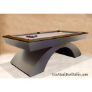 POOL TABLES  WALNUT RAILS