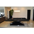 CUSTOM POOL TABLES BLACK GLOSSY