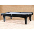 MANHATTAN CONTEMPORARY POOL TABLE BLACK : POOL TABLES MANHATTAN