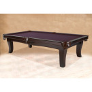 MANHATTAN CONTEMPORARY POOL TABLES CHERRY : POOL TABLES MANHATTAN