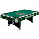 NBA Milwaukee Bucks Pool table : MILWAUKEE POOL TABLES :