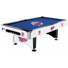 MLB Minnesota Twins Pool table : MINNESOTA POOL TABLES :
