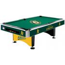MLB Oakland Athletics Pool table