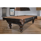 USED SPANISH POOL TABLE 8.5 FOOT