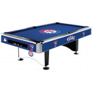 MLB Texas Rangers Pool table